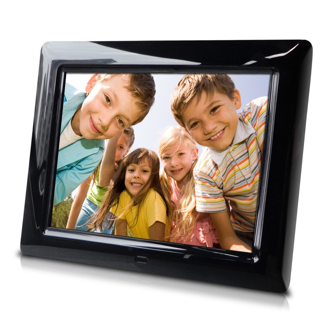Sungale PF803 8'' Digital Photo Frame, Hi-resolution, transitional effects, slideshow, interval time adjust, more