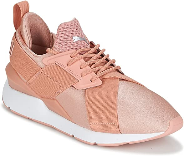 baskets femme rose puma