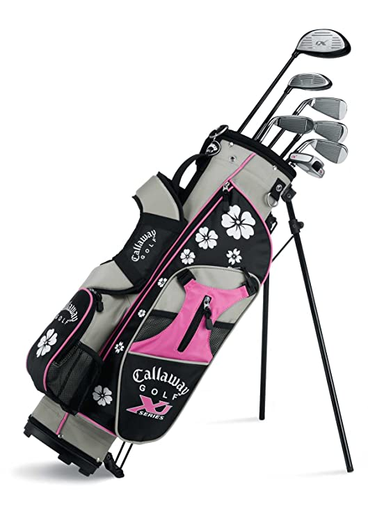 Callaway XJ Junior 11-Piece Girls Golf Club Set (9-12 Years Old, Left Hand)