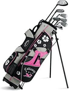Amazon.com : Callaway XJ Junior 11-Piece Girl's Golf Club ...