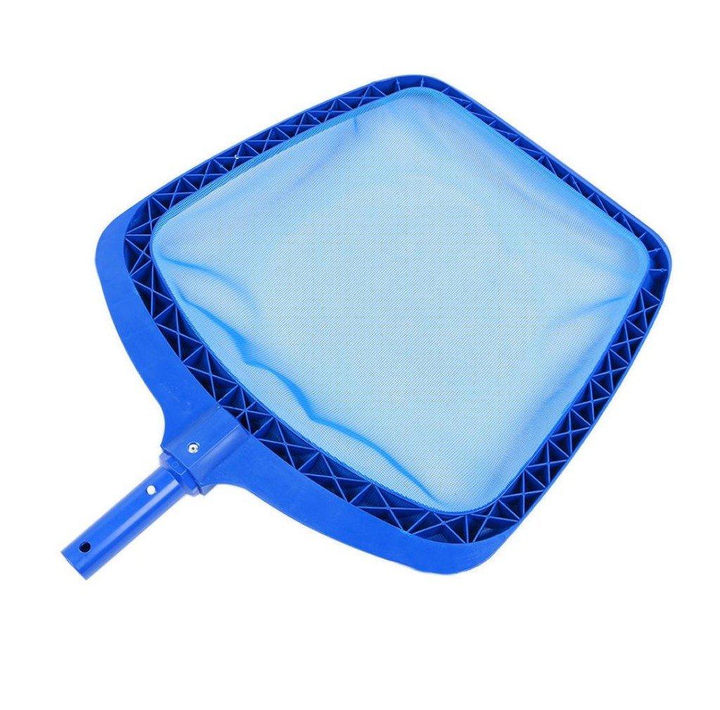 morecome Professional Leaf Rake Mesh Frame Cleaner Swimming Pool Tool