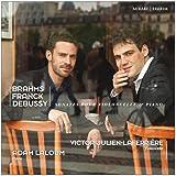 Brahms, Franck & Debussy: Sonates pour violoncelle & piano