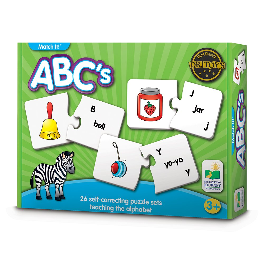 The Learning Journey Match It! - ABCs - Phonics and Pre-Reader Matching Puzzle Game