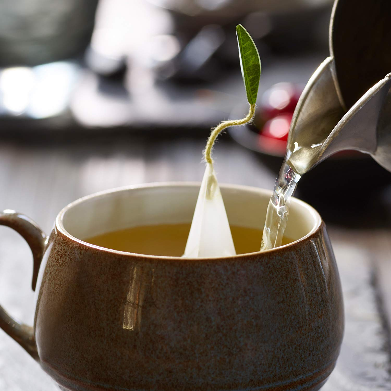 Tea Forte Tea Tasting Assortment Presentation Box Tea Sampler Gift Set, 20 Assorted Variety Handcrafted Pyramid Tea Infuser Bags - Black Tea, White Tea, Green Tea, Herbal Tea