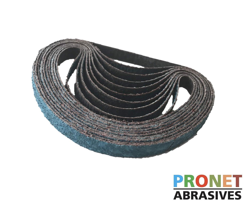 P60 10 x 330mm Zirconia Sanding Belts Packs of 10