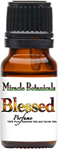 Miracle Botanicals Blessed Perfume Essential Oil Blend - 100% Pure Therapeutic Grade - 10ml