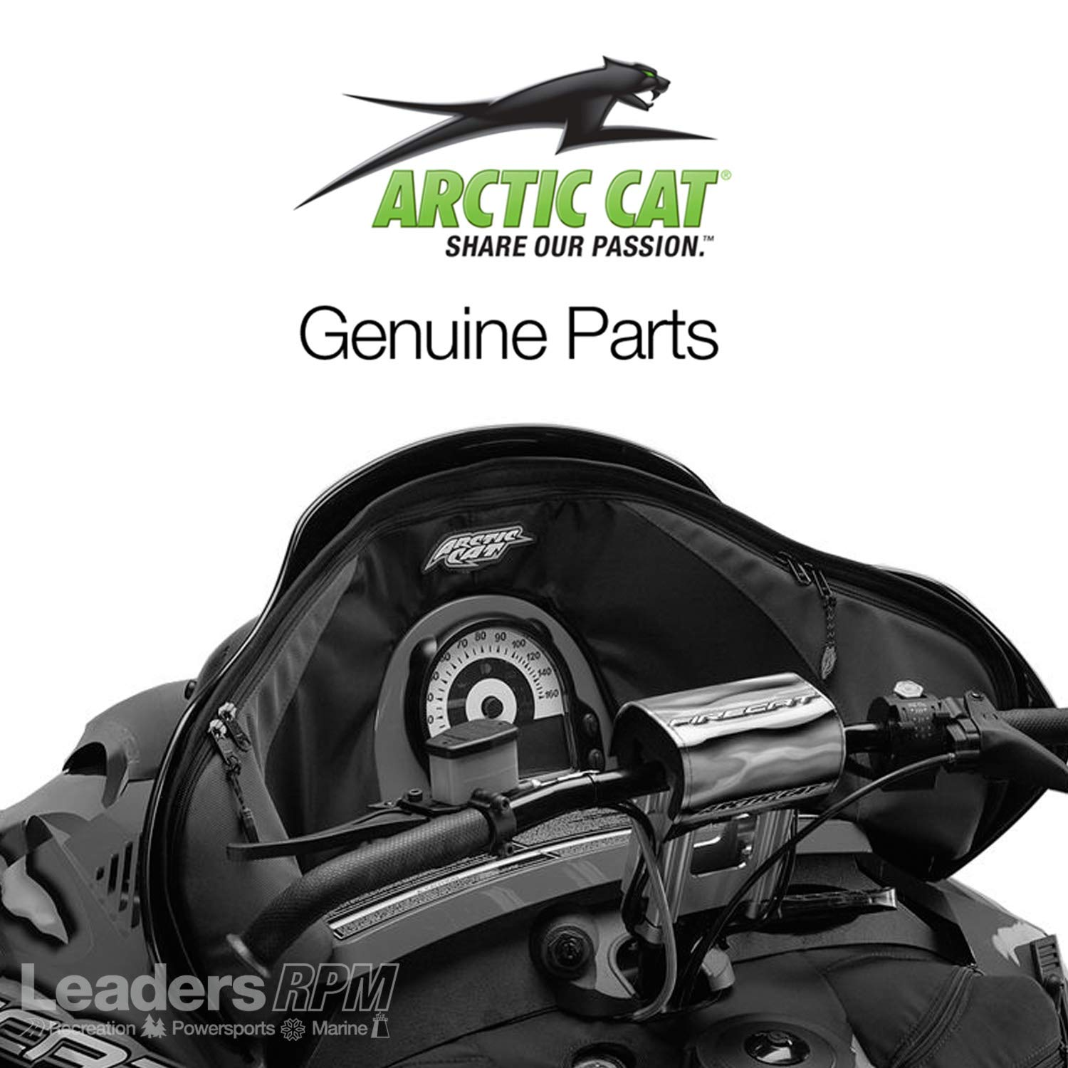 Arctic Cat Snowmobile Windshield Storage Bag For Firecat and Sabercat by Arctic Cat
