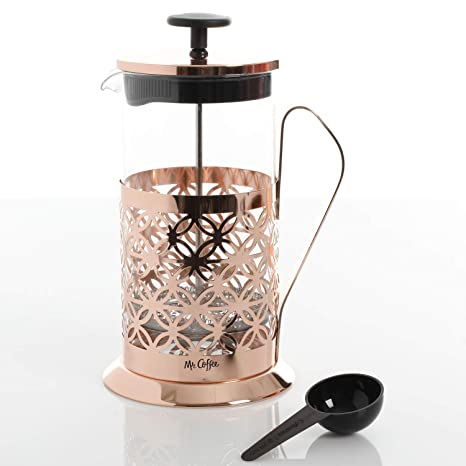Amazon.com: Mr. Coffee Trellise - Prensa de café de cristal ...