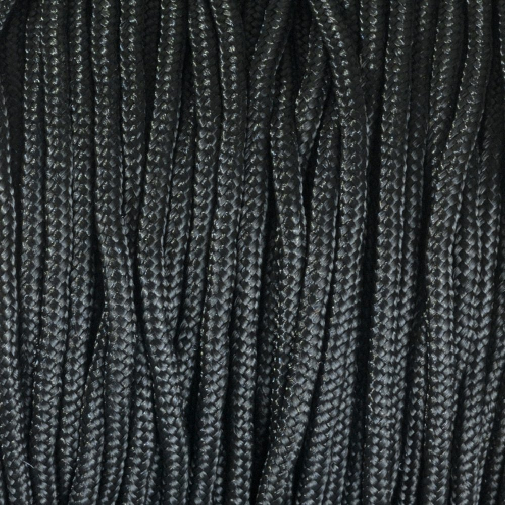 Paracord 2 mm x 50 m Black