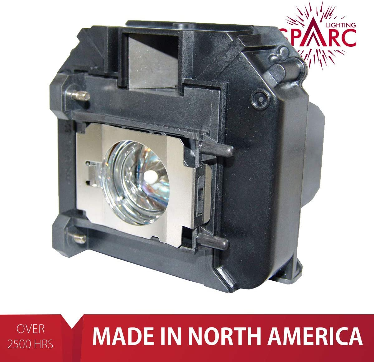V13H010L60 Projector Lamp with Enclosure fits PowerLite 420 425W 905 92 93 95 96W 1835 SpArc Lighting for Epson ELPLP60