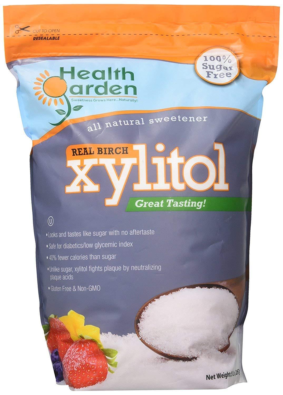 Health Garden Kosher Birch Xylitol 2 x 5 LB = 10 LB by HEALTH GARDEN