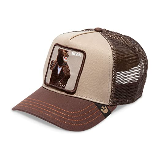 Image Unavailable. Image not available for. Color  Goorin Brothers Men s Animal  Mesh Trucker Cap Hat Snapback (Lone Star-Brown) dce759a79dc4