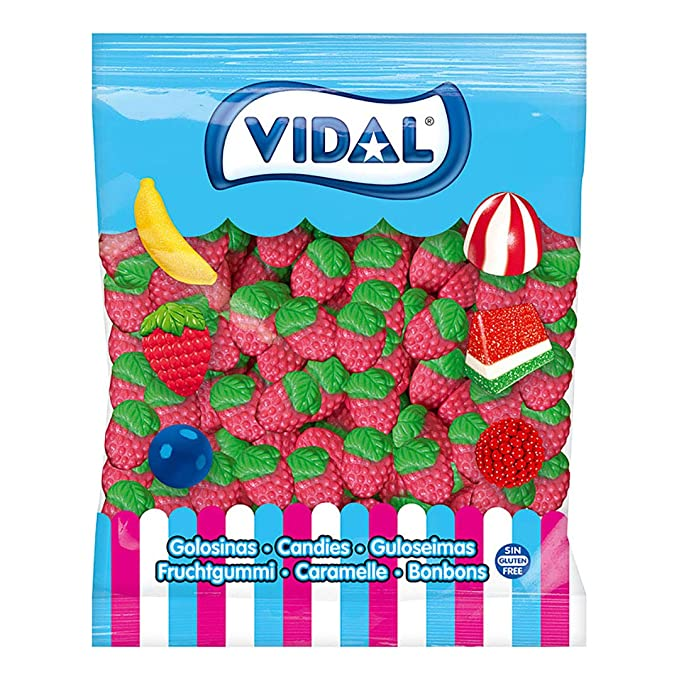 Fresas Silvestres – Bolsa de 1000 g – Vidal Golosinas