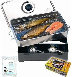Balzer Tischr/äucherofen Fische ganz einfach zuhause r/äuchern
