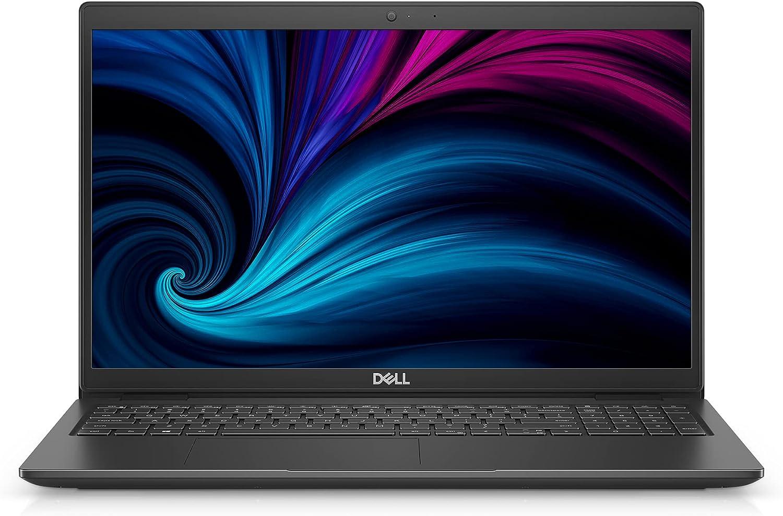 Dell Latitude 3520, 15.6 inch FHD Non Touch Laptop - Intel Core i5-1135G7, 8GB DDR4 RAM, 256GB SSD HD, Intel Iris Xe Graphics, Windows Pro - Black (Latest Model)
