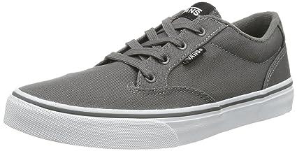 e231efc454aae3 Amazon.com  Vans Grey Winston Skate Shoes - Grade School Boys Size ...