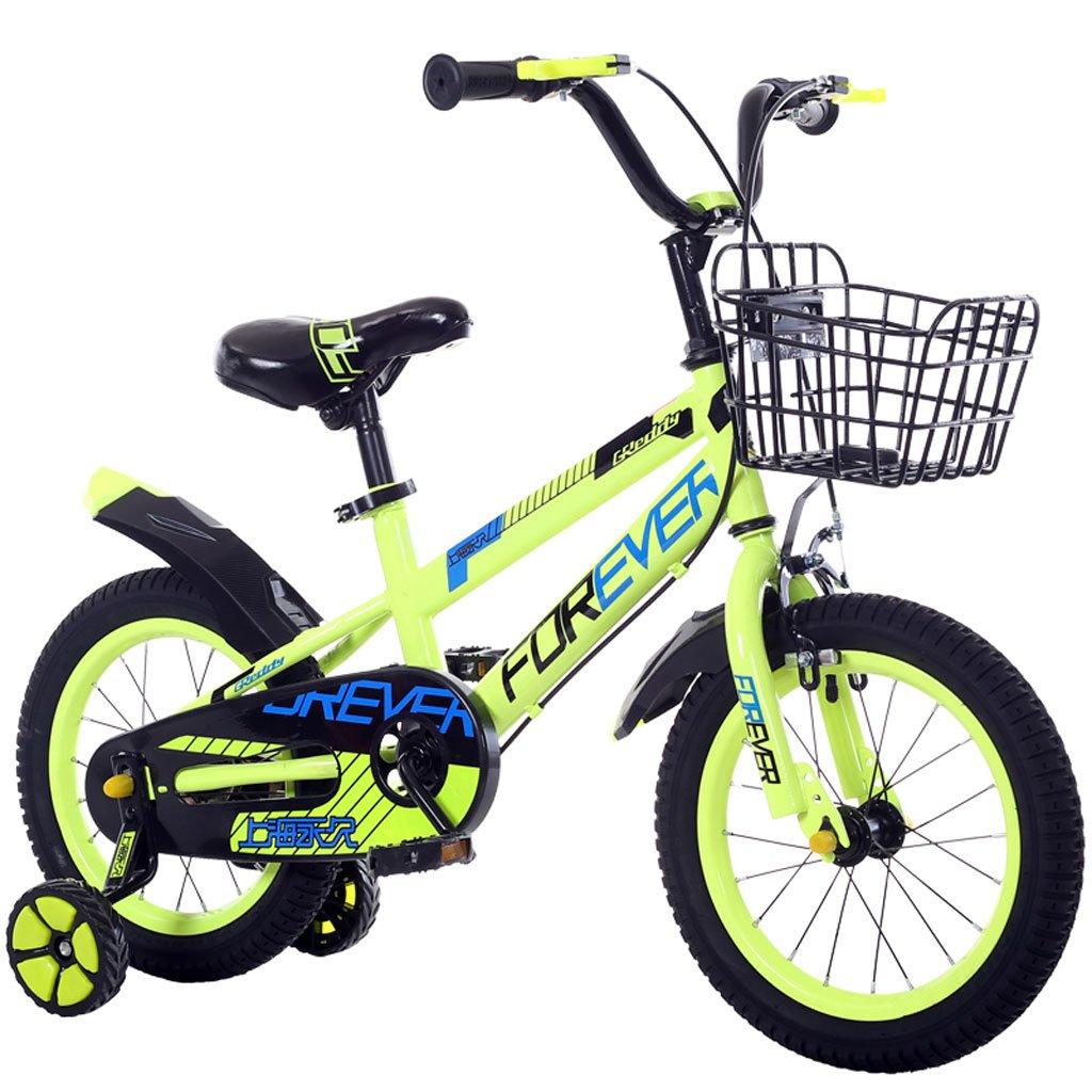 子供の自転車4-8歳の赤ちゃん自転車ベビーカー16インチの自転車高炭素スチールマウンテンバイク Green、青/緑/赤 (Color B07F5VPQ3Z : Green) Green Green) B07F5VPQ3Z, YANCHARS ヤンチャーズ:4b7c7c0c --- ijpba.info