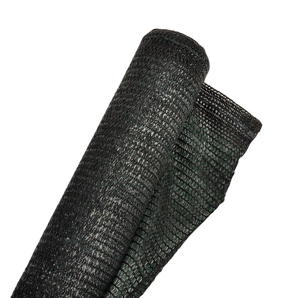 Rete ombra 90% 1.5x100m ombreggiante verde resistente UV bobina gazebo 174 Manifatture