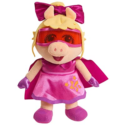 Muppet Babies Plush Figure - Super Fabulous Piggy: Toys & Games