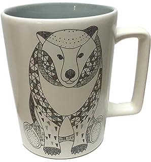 Amazon.com: 2017 Holiday Collection Ceramic Mug 12oz- FOX: Kitchen ...