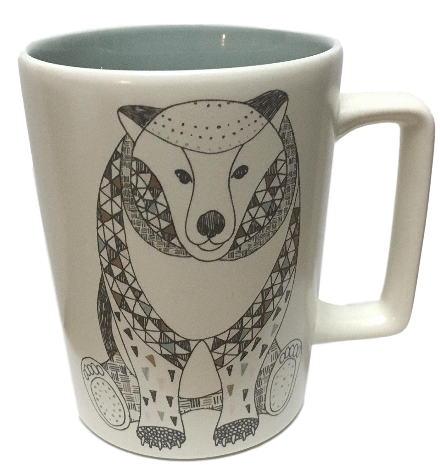 Holiday Bear Starbucks 12oz Collection 2017 Ceramic Mug CoeWQrEdxB