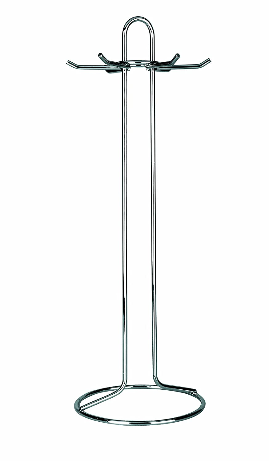 IBILI Stainless Steel Utensil Stand, Silver, 41.5 cm 759701