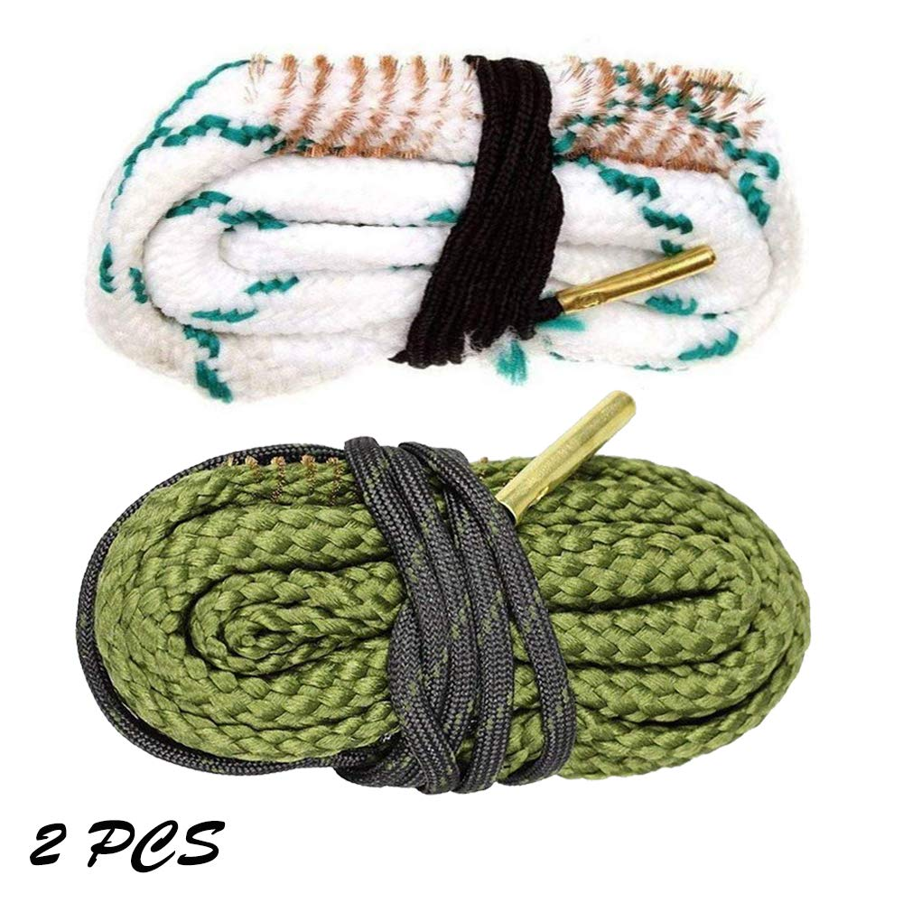 Gogoku 2-Pack Bore Cleaner Snake Rifle Shotgun Gun Cleaning Kit Fit for .223/5.56mm & .380/9mm(2PS Combo) by Gogoku