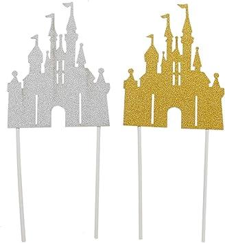 Amazon.com: Decoración para tartas con diseño de castillo ...