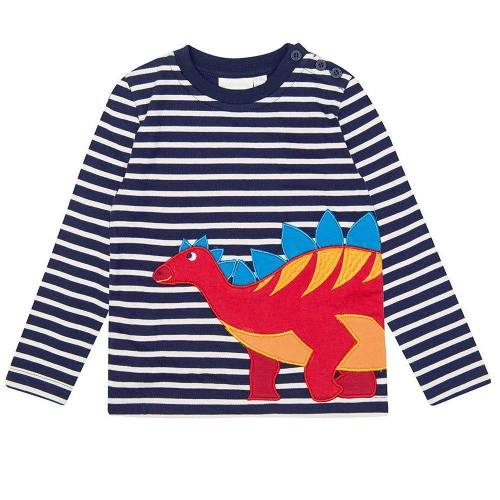 IsabelaKids Baby Boy's Long Sleeve Cotton Cartoon T-Shirts Pullover Sweatshirts