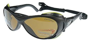 Gafas de sol Julbo Explorador Servicio Pesado, Negro con Protectores Laterales Extraíbles, Cameleon Anti