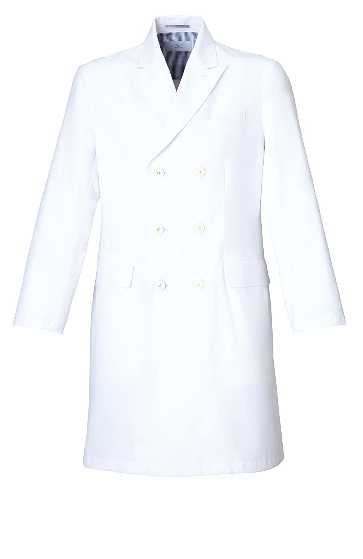 [ミズノ]Mizuno【ドクターコート(男)】高機能にこだわり抜いたデザイン(六つボタン)《031-MZ0026》 B01DMFOC2G C-1 ホワイト 3L