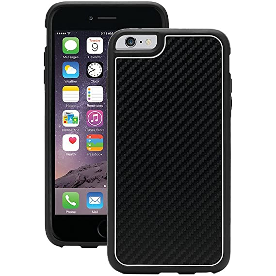 half off c4b30 4d5a4 Griffin Identity Graphite Case for iPhone 6 - Retail Packaging - Black/White