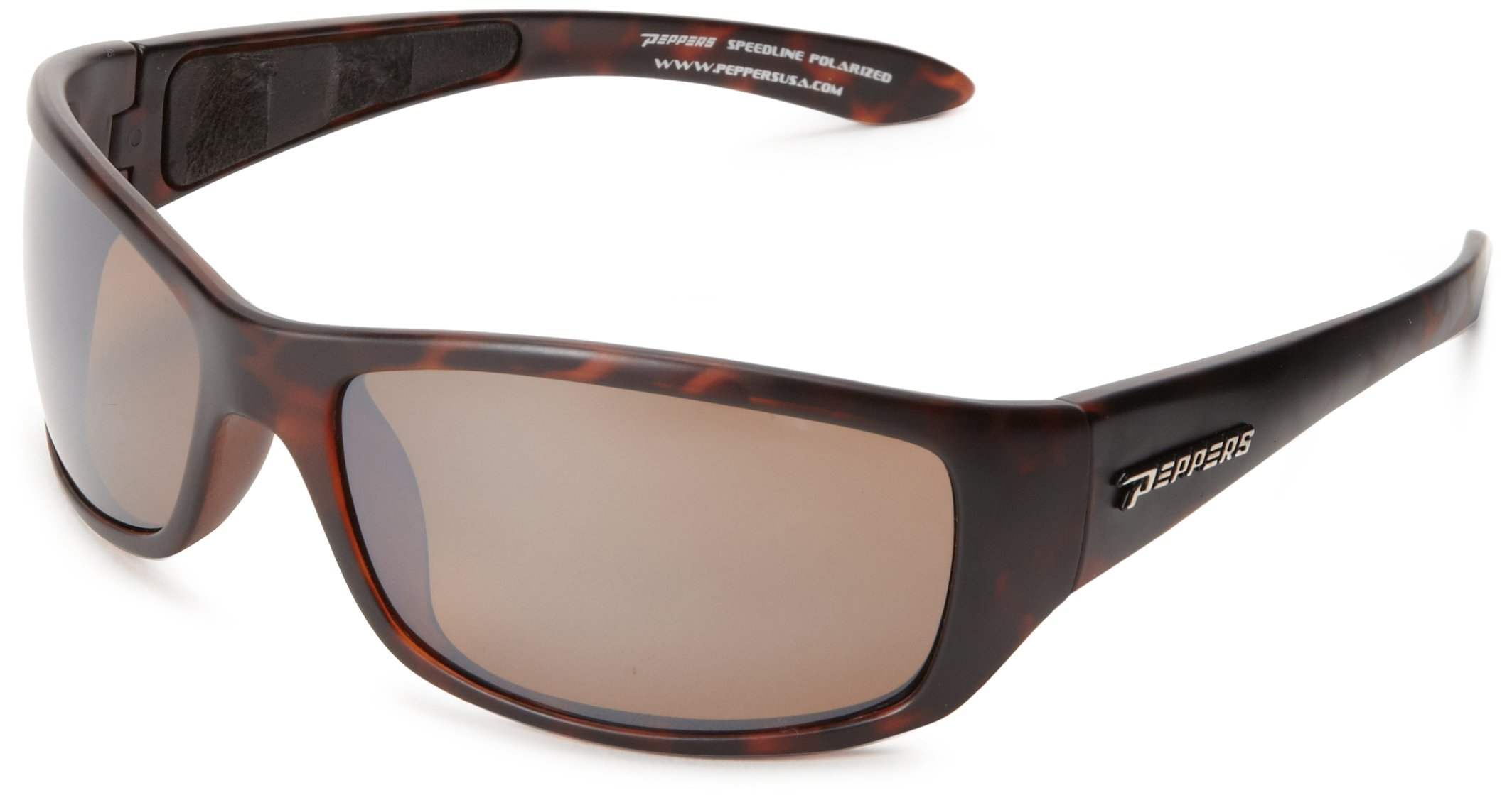 Pepper's Cutthroat FL7344-5 Polarized Sport Sunglasses,Dark Tortoise,One size by Peppers