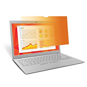 "3M Gold Privacy Filter for Full Screen 14"" Widescreen Laptop with Comply Attachment System (GF140W9E)"
