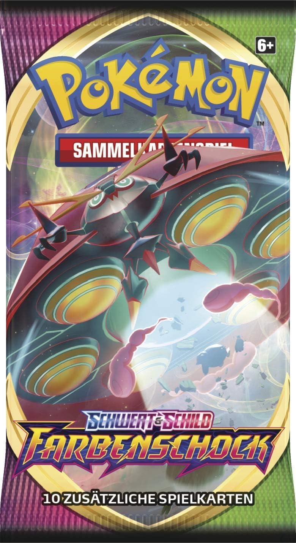 Farbenschock Displays mit 36 Booster Deutsch Pokemon Schwert /& Schild Serie 4
