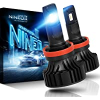 $49 » NINEO H11 H8 H9 LED Headlight Bulbs | CREE Chips 12000Lm 6500K Extremely Bright All-in-One…