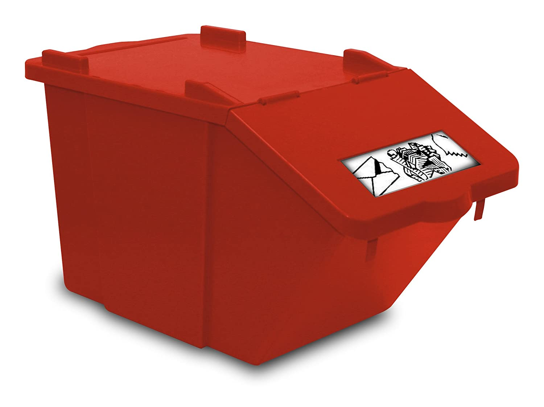 TTS Cleaning 00005140 Split Caja Polipropileno, 45 L, tapa ...