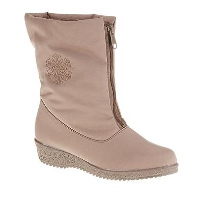 Toe Warmers Jennifer Taupe 003633-T30 Size 8 1 2 WW 16aab9a61b
