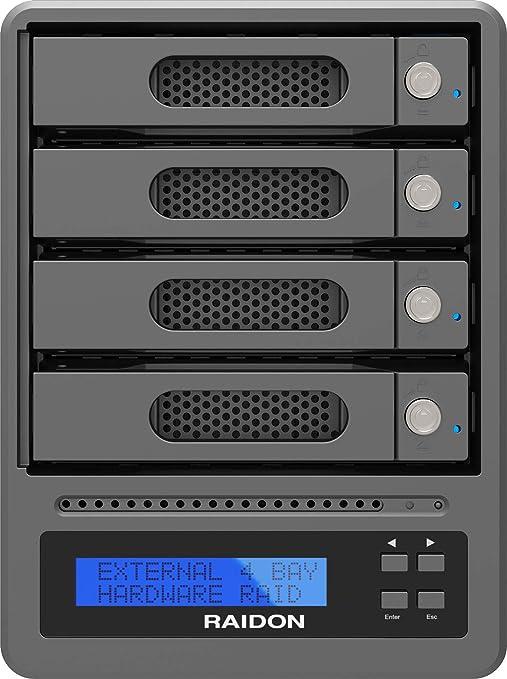 RAIDON GR5640-SB3 - Carcasa Raid Externa para Discos Duros y SSD ...