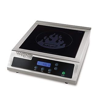 waring commercial wih400 hipower induction electric countertop range burner