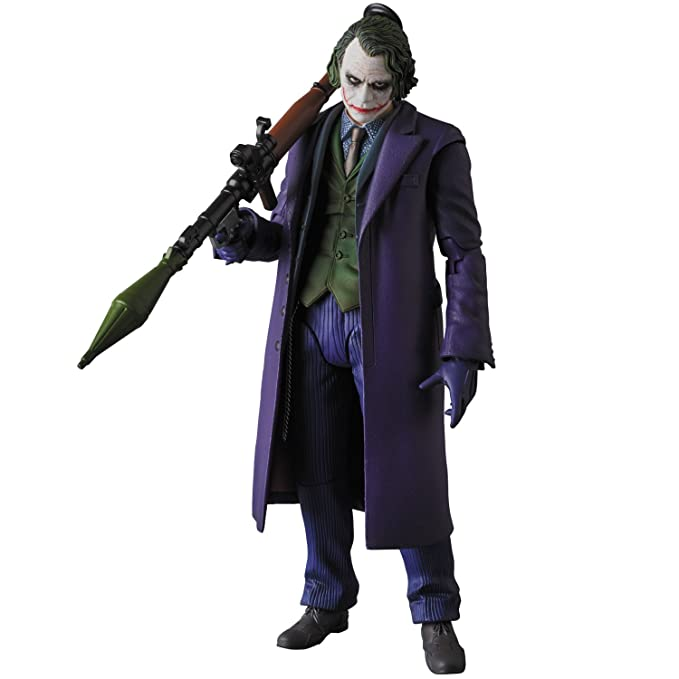 2.0 16 cm The Dark Knight MAF EX Action Figure Joker Ver