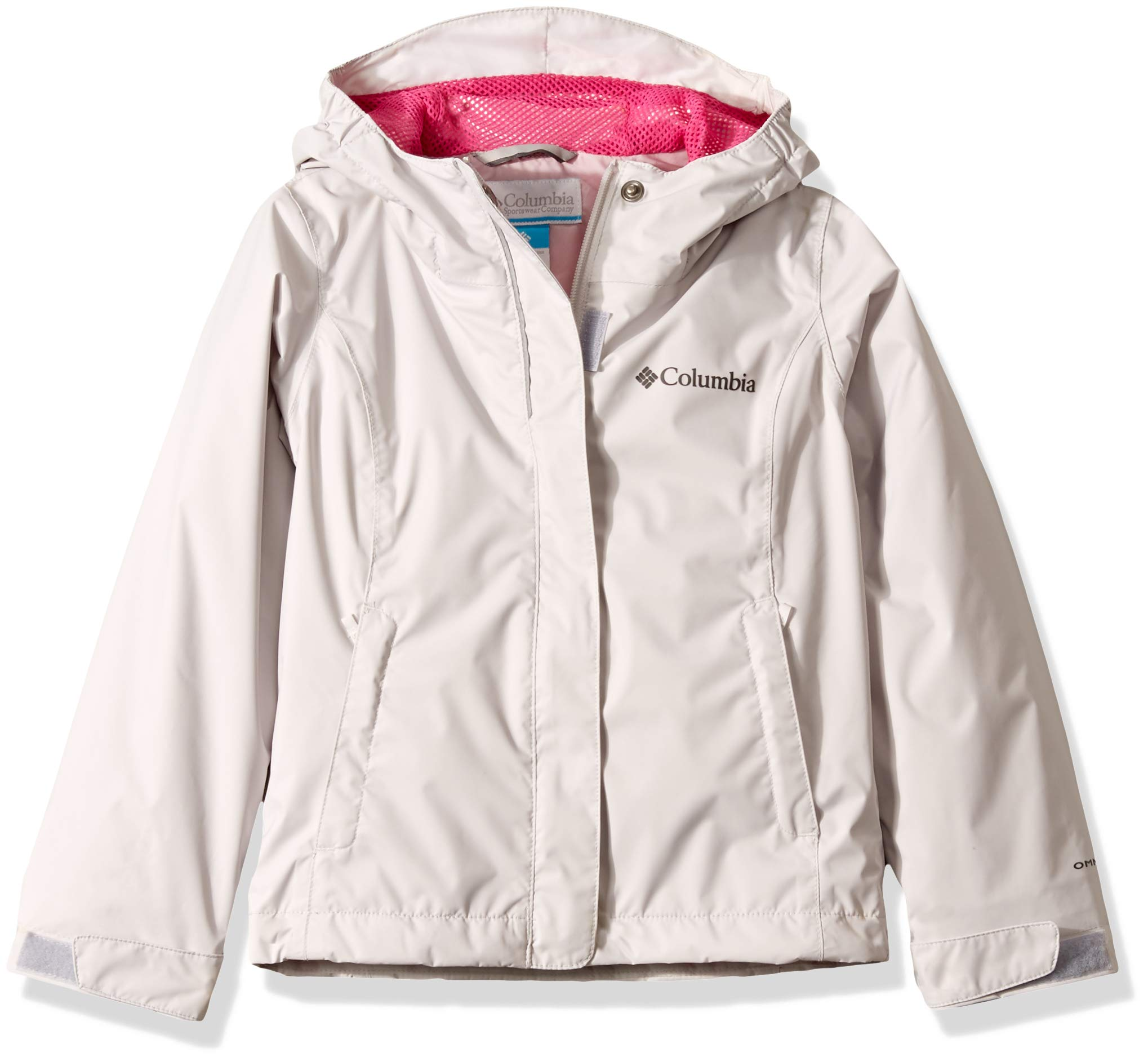 Columbia Girls' Big Arcadia Jacket, Silver Grey, X-Large by Columbia