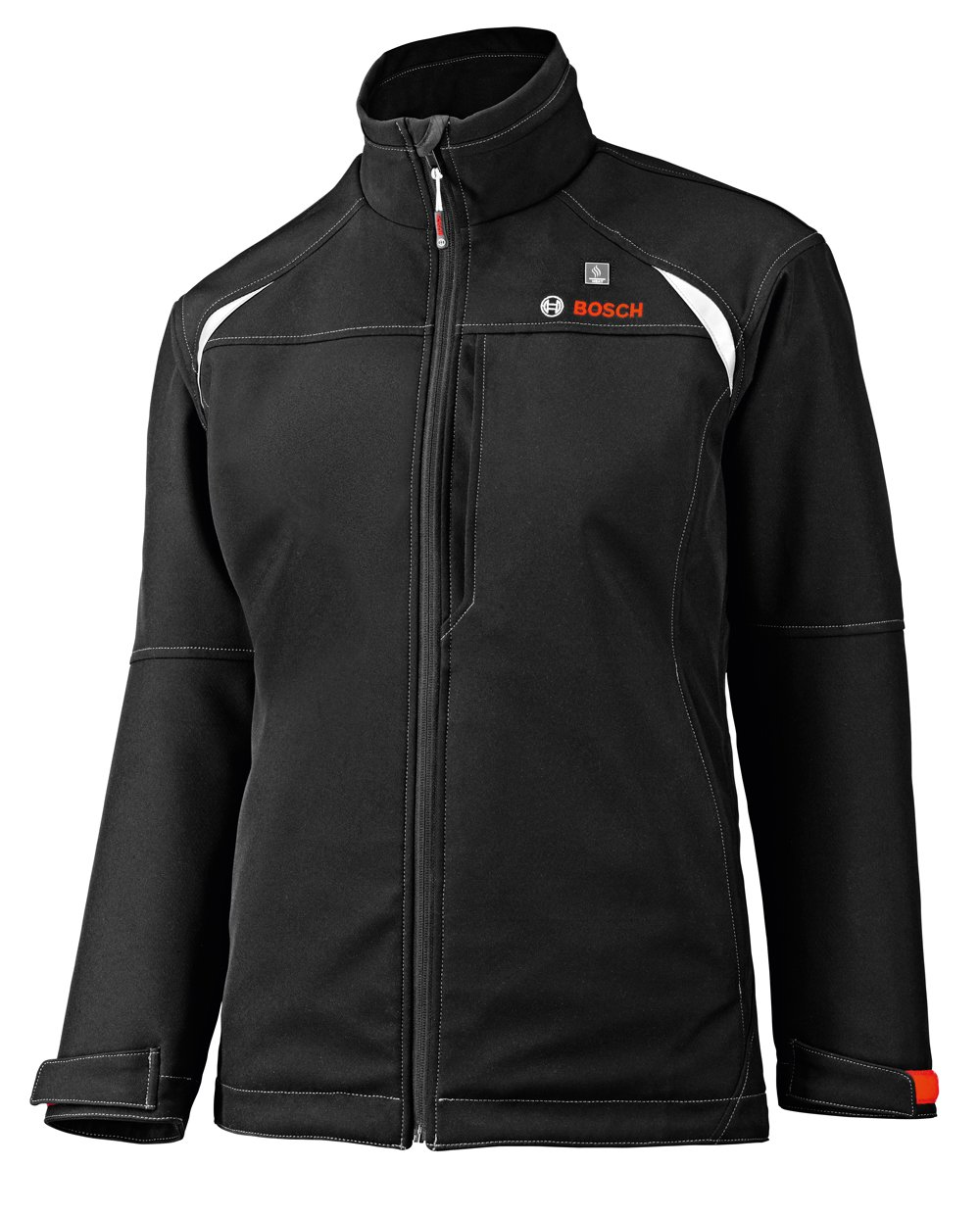 Bosch Women's 12-Volt Max Lithium-Ion Soft Shell Heated Jacket Kit with 2.0Ah Battery, Charger and Holster PSJ120M-102W by Bosch (Image #1)