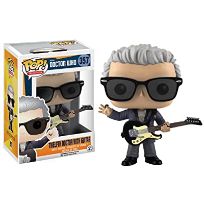 Funko POP Television: Doctor Who - 12th Doctor with Guitar Action Figure: Funko Pop! TV: Toys & Games