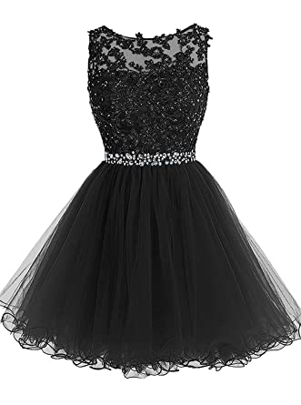Fit Design Womens Short Prom Dress 2018 Wedding Party Tulle
