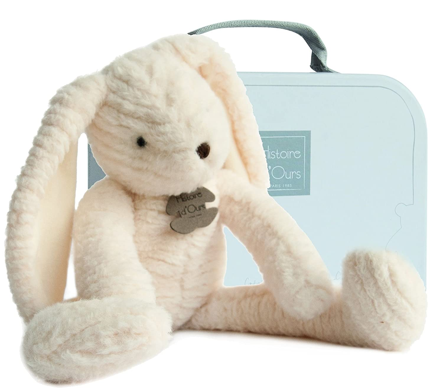 Doudou et Compagnie Sweety Couture Doudou Lapin Blanc MM