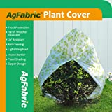 Agfabric 1.5oz Fabric of 60''x60'' Colored Plant Protecting Bag and Tree Cover with Zipper,Summer Shading, Insect Barrier