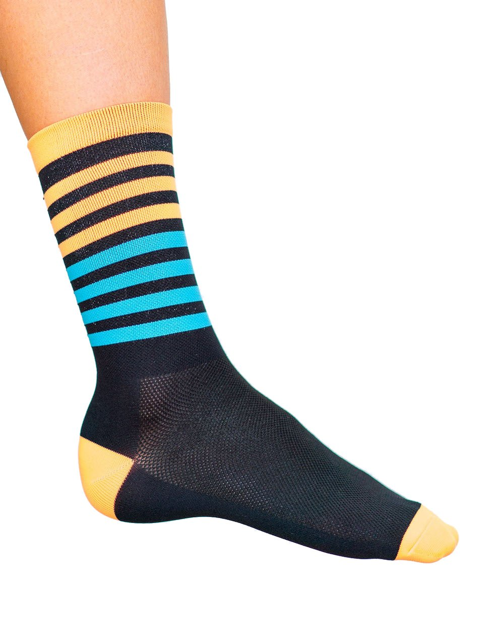 Cosmic Socks 6'' Night Moves, Cycling Socks size 6-11