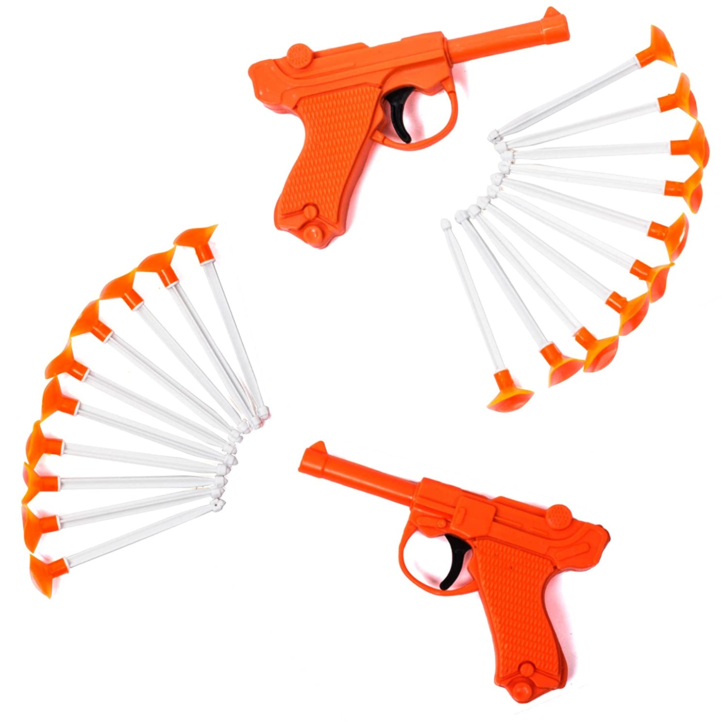 Tigerdoe Toy Guns for Kids – Dart Guns for Kids – Blaster Gun with Darts – (2 Pack) Kids Toys by