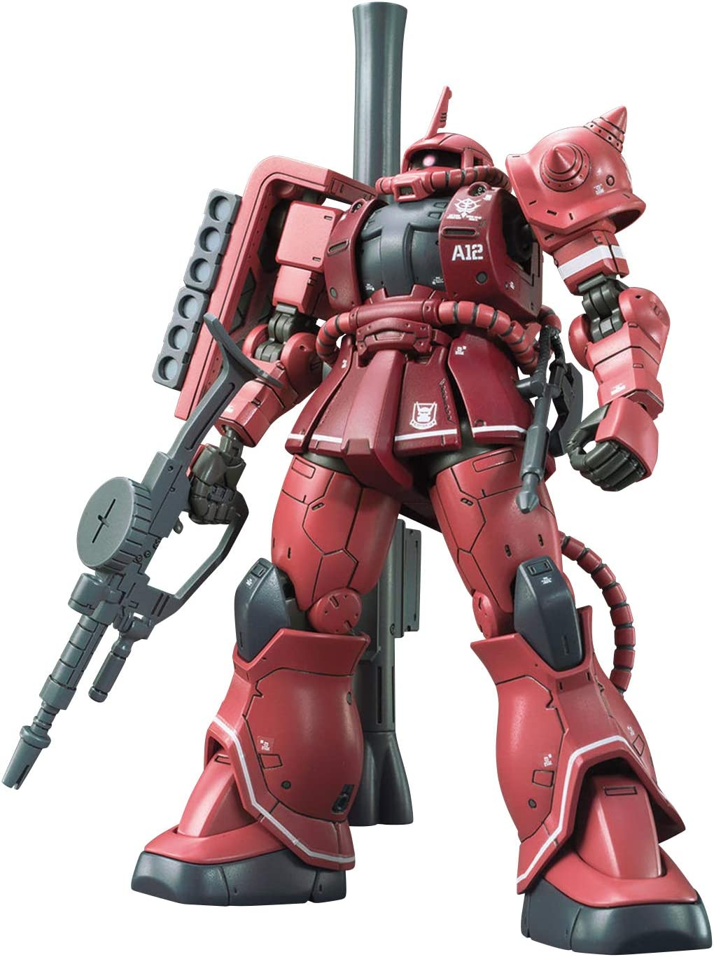 Gundam The Origin MS-06S Zaku II Char Red Comet Ver, Bandai HG TheOrigin 1/144